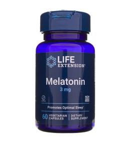 Life Extension Melatonina 3 mg - 60 kapsułek