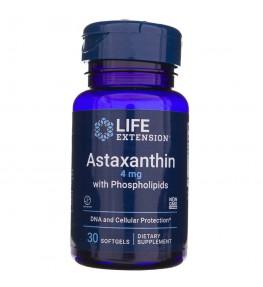 Life Extension Astaksantyna z fosfolipidami 4 mg - 30 kapsułek