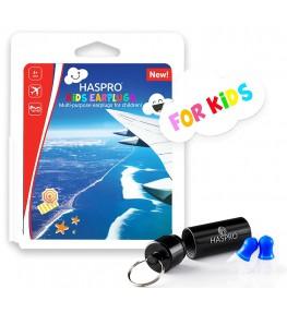 Haspro Kids - zatyczki stopery do uszu dla dzieci do samolotu
