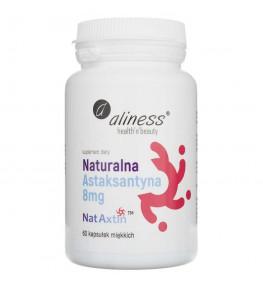 Aliness Astaksantyna Nat Axtin 8 mg - 60 kapsułek