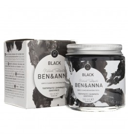 Ben&Anna Wybielająca pasta do zębów z aktywnym węglem - 100 ml