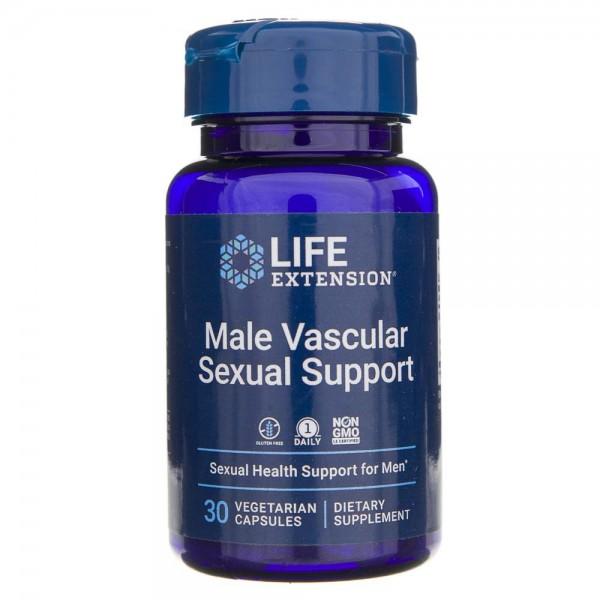 Life Extension Male Vascular Sexual Support dla mężczyzn - 30 kapsułek