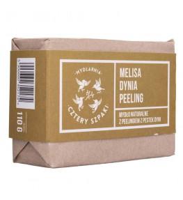 Cztery Szpaki Mydło peelingujące Melisa Dynia - 110 g