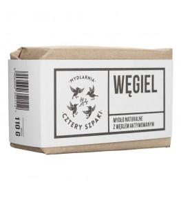 Cztery Szpaki Mydło węglowe Węgiel - 110 g