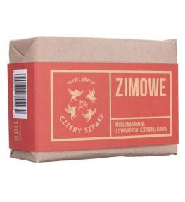 Cztery Szpaki Mydło zimowe o korzenno - ciasteczkowym aromacie - 110 g