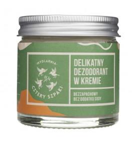 Cztery Szpaki Dezodorant w kremie bez dodatku sody bezzapachowy - 60 ml