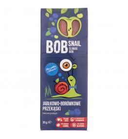Bob Snail Przekąska jabłkowo-borówkowa bez dodatku cukru - 30 g