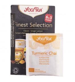 Yogi Tea Finest Selection Mix herbat - 18 saszetek