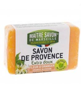 Mydło marsylskie pomarańczowe 100 g - Maître Savon