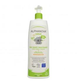 Alphanova Bebe Odżywczy żel do mycia skóry suchej i atopowej - 500 ml