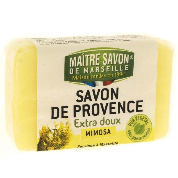 Mydło marsylskie mimoza 100 g - Maître Savon