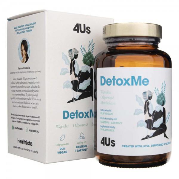 Health Labs 4Us DetoxMe - 90 kapsułek