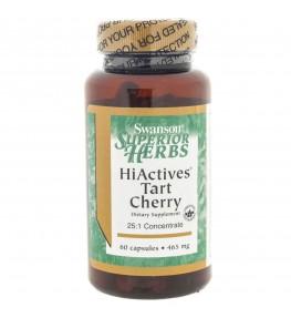 Swanson HiActives Tart Cherry 465 mg - 60 kapsułek