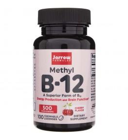 Jarrow Formulas Methyl B12 (Metylokobalamina) 500 mcg - 100 pastylek
