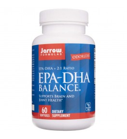 Jarrow Formulas EPA-DHA Balance 600 mg - 60 kapsułek