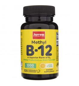 Jarrow Formulas Methyl B12 (Metylokobalamina) 1000 mcg - 100 pastylek