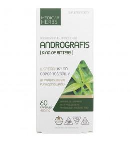 Medica Herbs Andrografis (King Of Bitters) 400 mg - 60 kapsułek
