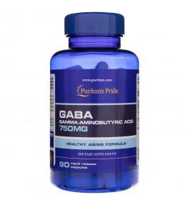Puritan's Pride GABA 750 mg - 90 kapsułek