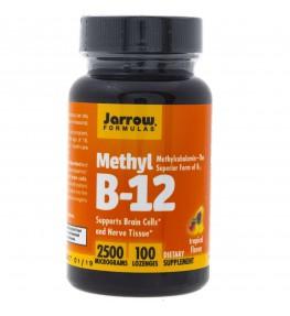 Jarrow Formulas Methyl B12 (Metylokobalamina) 2500 mcg - 100 pastylek