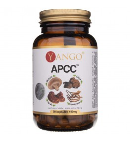 Yango APCC™ - reishi, shitake, kordyceps, chaga - 50 kapsułek