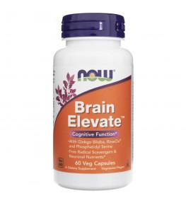 Now Foods Brain Elevate - 60 kapsułek