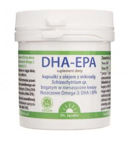 Dr. Jacob's DHA-EPA olej z alg - 60 kapsułek