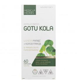 Medica Herbs Gotu Kola 520 mg - 60 kapsułek