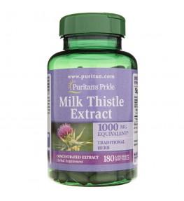 Puritan's Pride Ostropest Plamisty 1000 mg - 180 kapsułek