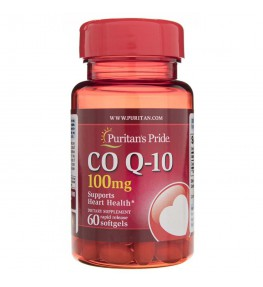 Puritan's Pride Koenzym Q10 100 mg - 60 kapsułek