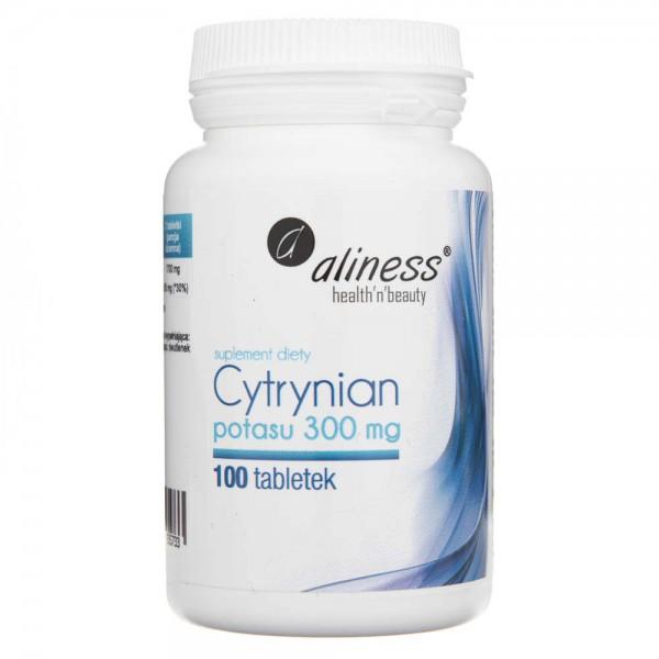 Aliness Cytrynian Potasu 300 mg - 100 tabletek
