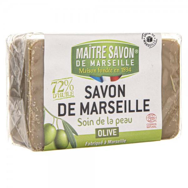 Maitre Savon Mydło marsylskie oliwkowe - 100 g