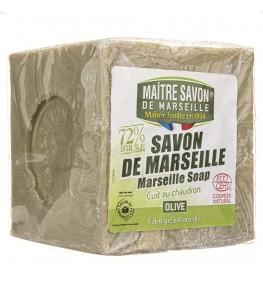Maitre Savon Mydło marsylskie oliwkowe - 500 g