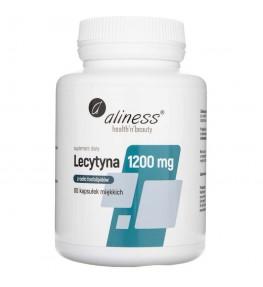 Aliness Lecytyna Forte 1200 mg - 60 kapsułek