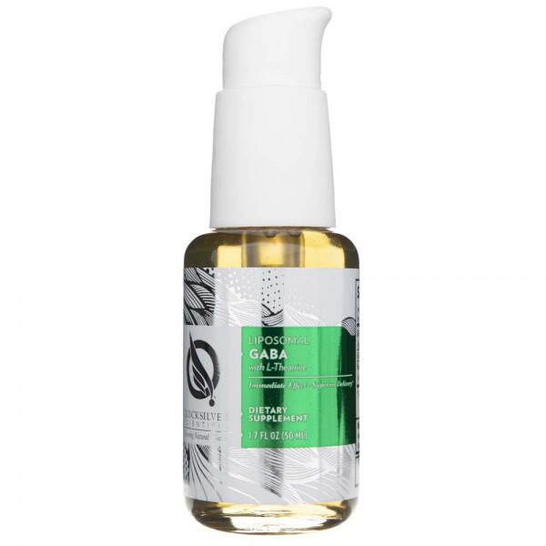 Quicksilver Liposomalna GABA z L-Teaniną - 50 ml