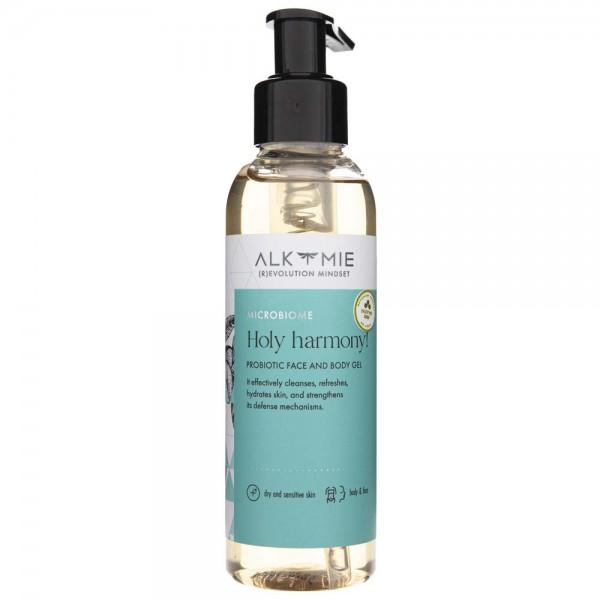 Alkmie Probiotyczny żel do mycia twarzy i ciała Holy harmony - 150 ml