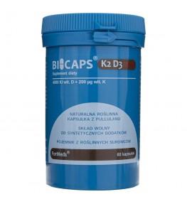 Formeds Bicaps K2 D3 Max- 60 kapsułek