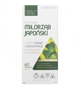 Medica Herbs Ginkgo Biloba (Miłorząb Japoński) 120 mg - 60 kapsułek