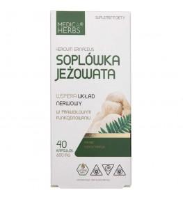Medica Herbs Soplówka jeżowata - 40 kapsułek