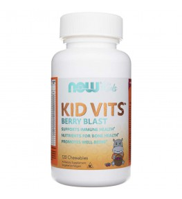 Now Foods Kid Vits (multiwitamina dla dzieci) - 120 pastylek