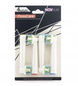Oryginalne końcówki Novilia do szczoteczki Oral-B Floss Action 8 szt.