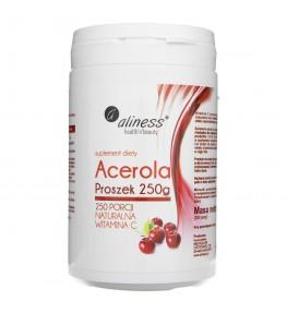 Aliness Acerola w proszku (Naturalna Witamina C) - 250 g