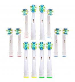 Oryginalne końcówki Novilia do szczoteczki Oral-B Floss Action 12 szt.
