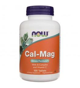 Now Foods Cal-Mag Stress Formula - 100 tabletek