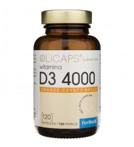 Formeds Olicaps Witamina D3 4000 - 120 kapsułek