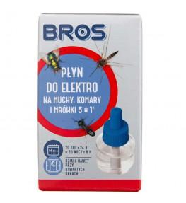 Bros Płyn do elektro na muchy, komary i mrówki 3w1 - 30 ml
