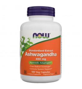Now Foods Ashwagandha 450 mg - 180 kapsułek