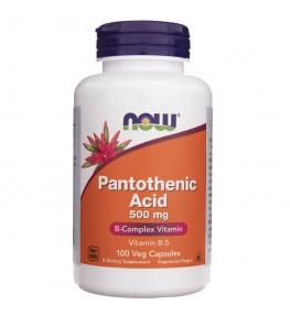 Now Foods Pantothenic Acid kwas pantotenowy 500 mg - 100 kapsułek