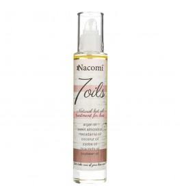 """Nacomi Naturalna maska """"7 Olei"""" do olejowania włosów - 100 ml"""