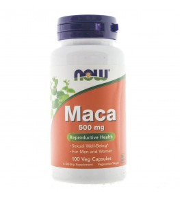 Now Foods Maca 500 mg - 100 kapsułek