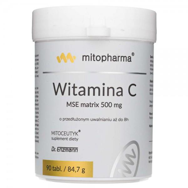 Dr. Enzmann Witamina C MSE matrix 500 mg - 90 tabletek